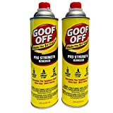 Goof Off FG655AM Pro Pour 20 oz (2 Count) Remover, Yellow