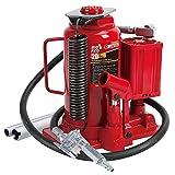 BIG RED TA92006 Torin Pneumatic Air Hydraulic Bottle Jack with Manual Hand Pump, 20 Ton (40,000 lb) Capacity