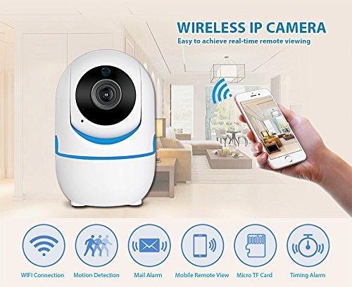 KERUI 720P 1080P portatile piccolo mini interna Full HD senza fili di sicurezza a casa WIFI IP telecamera di sorveglianza telecamera Night Vision CCTV fotocamera 720P
