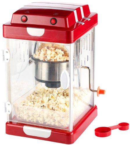 """Rosenstein & Söhne Popcornmaschinen: Retro-Popcorn-Maschine\""""Movie\"""" im 50er-Jahre-Look (Popcornautomat)"""