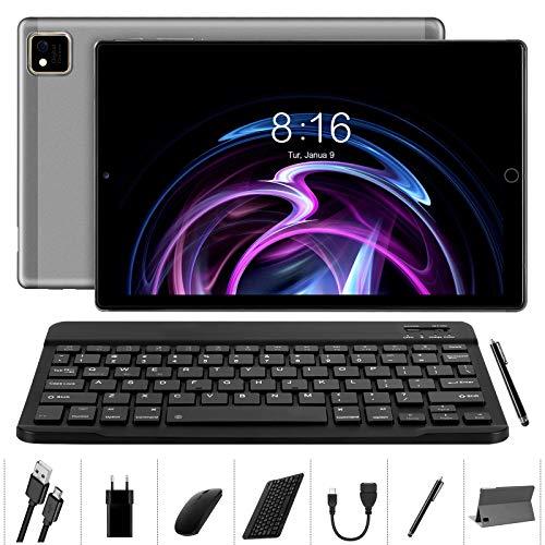 Tablet 10 Pulgadas Android 10.0 - YUMKEM Tableta 4GB RAM 64GB ROM...