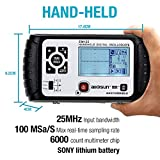 ALLOSUN Oscilloscope Handheld Scope Digital Storage Meter and Digital Multimeter DMM 25MHz Single Channel, Model:EM125