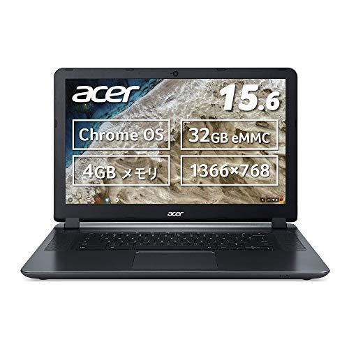Acer ノートパソコン Chromebook N3060 15.6型 タッチ機能なし 日本語キーボード Celeron N3060 4GB eMMC 3...