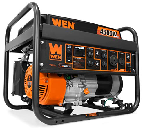 WEN GN4500 4500-Watt 212cc Transfer Switch and RV-Ready Portable...