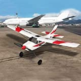 Funtech RC Airplane Remote Control Airplane 3 Channel with 2.4ghz Radio Control 6 Axis Gyro, Durable...