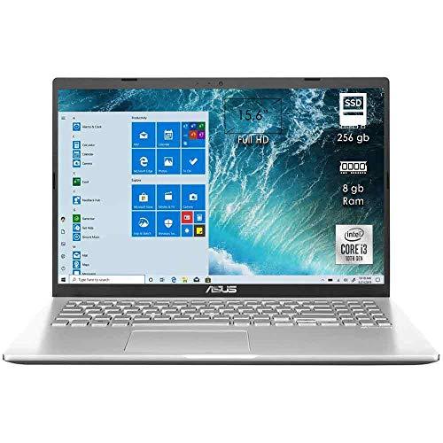Notebook Asus X509JA Portatile Cpu Intel core i3 / Display 15.6' / DDR4 8GB / SSD 256GB / VGA Web Camera / WI-FI / Bluetooth / LED Anti-Riflesso Ultra Slim HDMI windows 10 con licenza Colore Argento