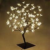 Arbre Lumineux 90 LED Fleurs, Pour Noël, Pour la Maison, Vacances, Mariages,...