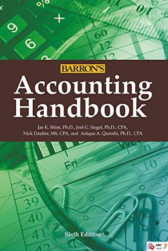 Accounting Handbook (Barron's Accounting...