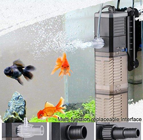 LONDAFISH 3-en-1 Tanque de Peces Bomba de Agua Bomba Sumergible Bomba...