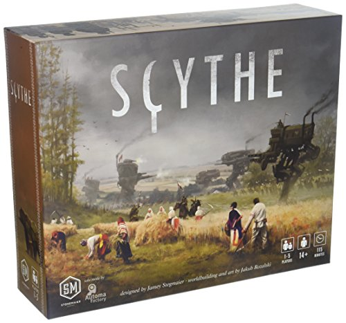 Stonemaier Games Scythe Board Game - An Engine-Building, Area Control for 1-5 Players, Ages 14+ (Toy)