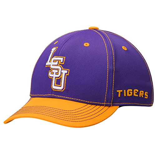 Top-of-the-World-LSU-Tigers-Tow-Purple-Krossover-Two-Tone-Flexfit-Hat-Cap-ML