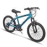 Huffy Kids Hardtail Mountain Bike for Boys, Stone Mountain 20 inch 6-Speed (Summit Ridge)
