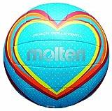 Molten V5B1501-B - Palla da Volley, Colore: Blu/Rosso/Arancione, Misura 5