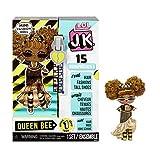 LOL Surprise Mini Poupées Mannequin JK - 15 Surprises, Vêtements et Accessoires - À Collectionner - Queen Bee