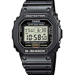 Casio Men's G-Shock Quartz Watch with Resin Strap, Black, 20 (Model: DW5600E-1V) 21