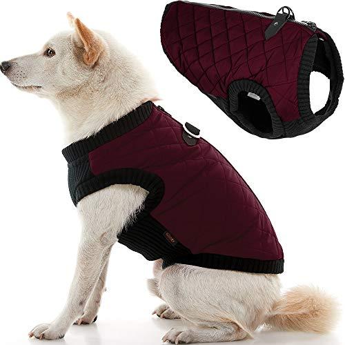 Gooby Fashion Vest Dog Jacket - Purple, Medium -...