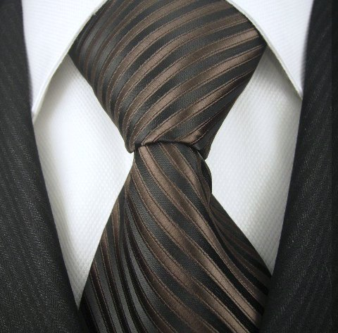 Striped Ties for Men – Woven Necktie – Mens Ties Neck Tie by Scott Allan