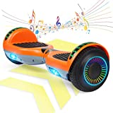 FLYING-ANT Hoverboard w/Bluetooth Speaker Self Balancing Scooter Two 6.5' Flashing Wheels UL2272...
