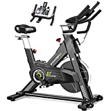 PYHIGHExerciseBike-Indoor Cycling Bike for Home, Stationary Bike, LCD Monitor with iPad Holder,...