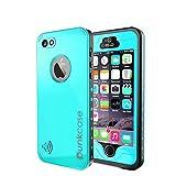 iPhone 5S/5 Waterproof Case, PUNKcase StudStar Teal Apple iPhone 5S/5 Waterproof Case W/Attached Screen Protector
