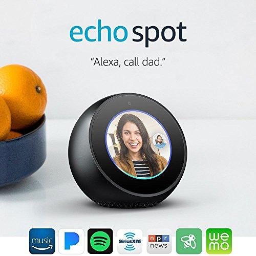 Product Image 9: Echo Spot - Smart Alarm Clock with Alexa - Black