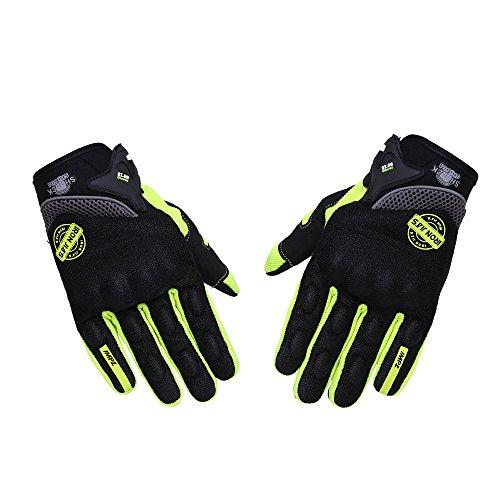Guanti da moto per guanti da touch screen per uomo donna, traspiranti, da corsa fuoristrada, guanti...