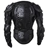 Walktorock OEM Men's Motorbike Motorcycle Protective Body Armour Armor Jacket Guard Bike Bicycle Cycling Riding Biker Motocross Gear Black With bag By Onewood (X-Large)