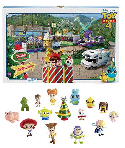 Toy Story 4 Calendario dell'Avvento, Contiene 24 Sorprese Ispirate al Film, Giocattolo per Bambini 3 + Anni, GKT88