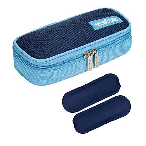 Borsa termica per insulina medicinali termolabili per Diabete siringhe, l'insulina e farmaci (blu +...