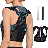 AVIDDA Posture Corrector for Men and Women, Upgraded Back Brace with Replaceable Support Plates,...