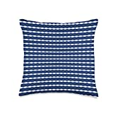 Kristalin Davis Pattern 96 Throw Pillow, 16x16, Multicolor
