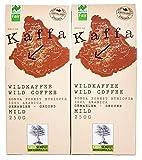 Original Food Kaffa Wildkaffee mild gemahlen 2er-Pack...