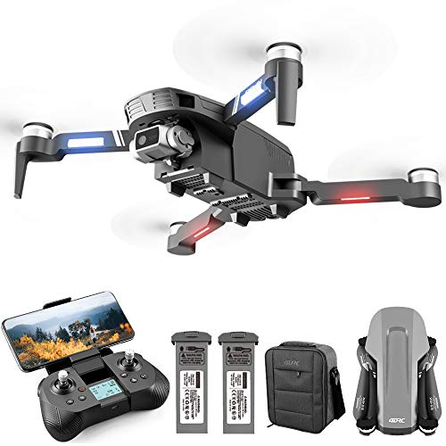 Product Image 1: 4DRC F4 GPS Drone with 4K HD Camera,2-Axis gimbal Anti-shake Camera, RC quadcopter for Adults, 5G FPV Live Video,GPS Return Home,,Brushless Motor,Follow Me, 60 Minutes Flight Time, Carrying Case