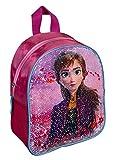Undercover FRUW7140 - Mochila con lentejuelas reversibles (26 x 21 x 9,5 cm), diseño de Frozen II con Anna y Elsa, color rosa
