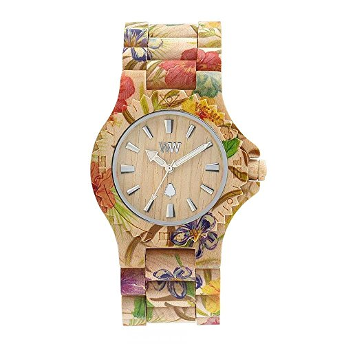 WEWOOD Damen Analog Quarz Smart Watch Armbanduhr mit Holz Armband WW01013