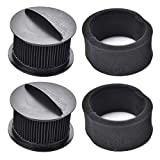 LGLR 2 Pack Replacement Filters for Bissell Power Force & Helix Turbo Inner and Outer Filter Set,Replaces Part # 203-7913, 32R9, 73K1