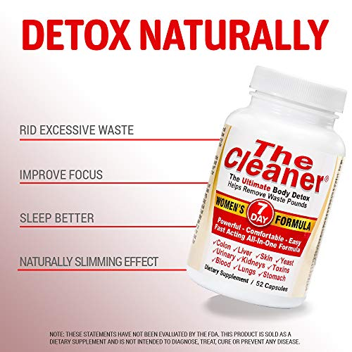 The Cleaner 7Day Women's Formula Ultimate Body Detox (52 Capsules) 5