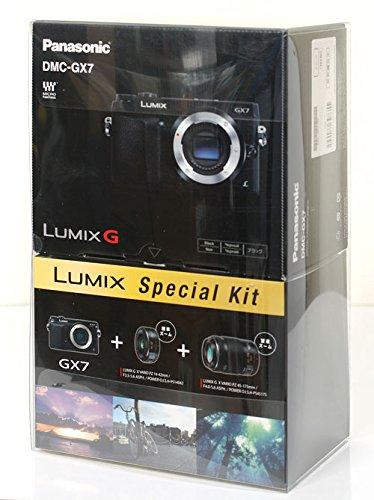 パナソニック LUMIX DMC-GX7-KS Wパワーズームレンズキット ブラック