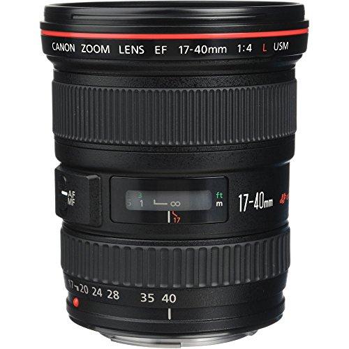 Canon EF 17-40mm F/4L USM - Objetivo para Canon (Distancia Focal 17-40mm, Apertura f/4-22, Zoom...