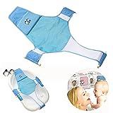 Support de siège de bain pour nouveau-né - En maille - Pour baignoire -...
