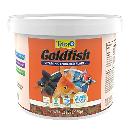 Tetra TetraFin Goldfish Flakes - Balanced Diet