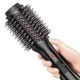 Cepillo de aire caliente AEVO, secador de pelo iónico multifuncional 4 en 1, 3 modos, cepillo y ...