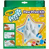 Crayola- Pets-Set Crea, trasformare l'impronta della zampina del Tuo Animale Domestico in Un Oggetto Decorativo da conservare per Sempre, Forma Stella, 57-0204
