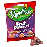 Rowntree's Red and Black Fruit Pastilles Sharing Bag 150g - Pack of 2 Quantity: 2