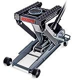 Powerbuilt - 3000Lb Triple Lift Garage Jack, (620622), Black