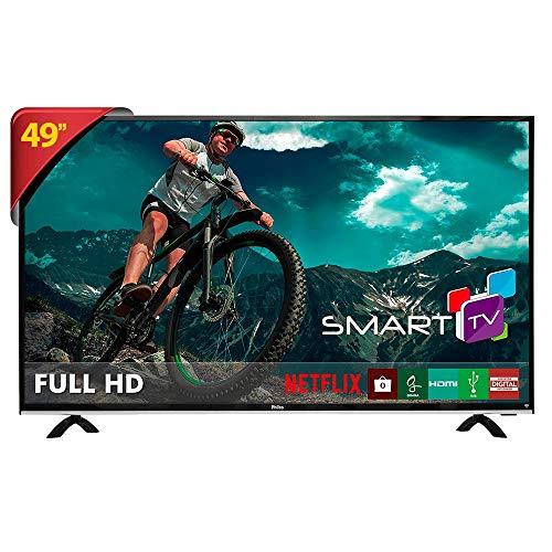 Smart TV LED 49' Full HD PTV49E68DSWN, Wi-Fi, 3 HDMI, USB, MidiaCast