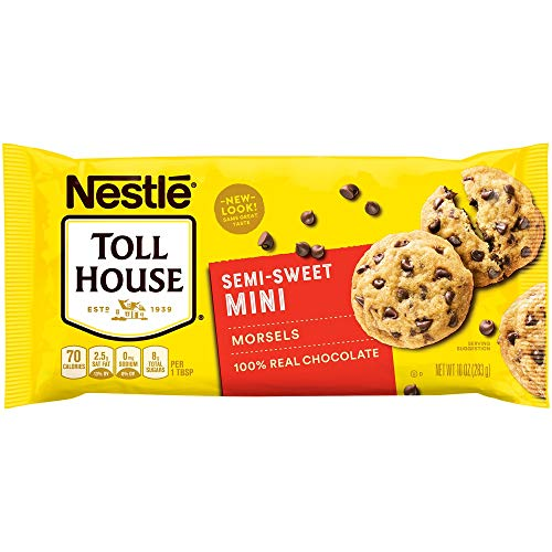 Nestle Toll House Semi-Sweet Chocolate Chip Mini Morsels 10-Oz. Bag