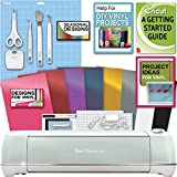 Cricut Explore Air 2 Machine Bundle Beginner Guide, Tool Kit, Vinyl...
