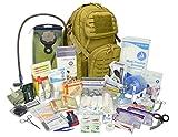 Lightning X Stocked Modular Trauma Bleeding Kit - Responder Medical Backpack + Hydration - TAN
