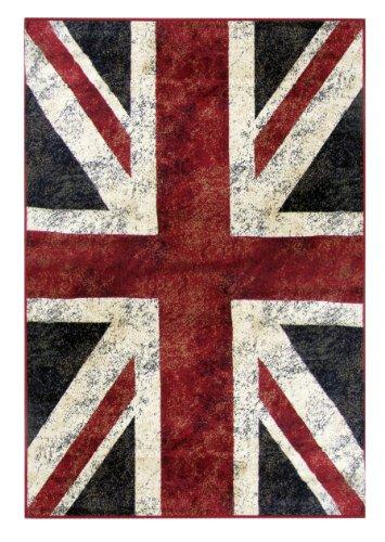 Viva Pop UK Tappeto Arredo, Multicolore, 150 x 100 cm